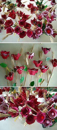 Sant Jordi 2009 Roses de cartró | Cristina | Flickr