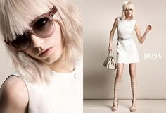 Abbey Lee for Hugo Boss by Inez and Vinoodh s/s 15