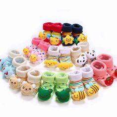 Lovely Cute Cartoon Animal Baby Socks //Price: $6.95 & FREE Shipping //