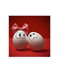 ostereier deko-liebespaar gestalten - Ostereier einmal anders bemalt - decoration - yes yes yes ! I love it! Art D'oeuf, Egg Benefits, Health Benefits, Funny Eggs, Cute Egg, Easter Egg Designs, Egg Art, Egg Decorating, Be My Valentine