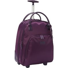 Lipault Vertical Wheeled Brief - a wheeled business bag designed especially  for… 2fc499ec26319