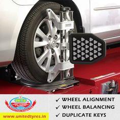 United Tyre Sales Service  your one stop shop for all your WHEEL & TYRE NEEDS. . #WheelAlignment  #WheelBalancing  #Tyres #AlloyWheels #CarTyres #DuplicateKeys #CGroad  #Sarkhej #Satellite #Maninagar #Ahmedabad