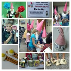 Hobbits, gnomes and dwarves-- oh my! Tween library party