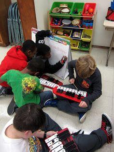 One Teacher, A Piano and a Handful of Maracas: Pitch, Please!