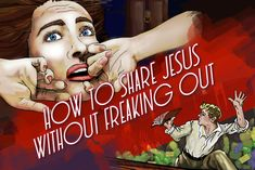 How can we share Christ with the unchurched? It's simple: one conversation at a time. Here are some reminders for Christians to help alleviate their fears. Inspirational Verses, Bible Encouragement, Freak Out, Christians, Bible Verses, Conversation, Teaching, Simple, Books