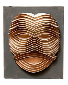 Irving Harper: Works in Paper, Art Book Surveys the Paper Sculpture of a Modernist Designer George Nelson, Quilling, Sunburst Clock, Sculpture Painting, Paper Sculptures, Book Sculpture, Art And Craft, Paper Mask, Art Africain