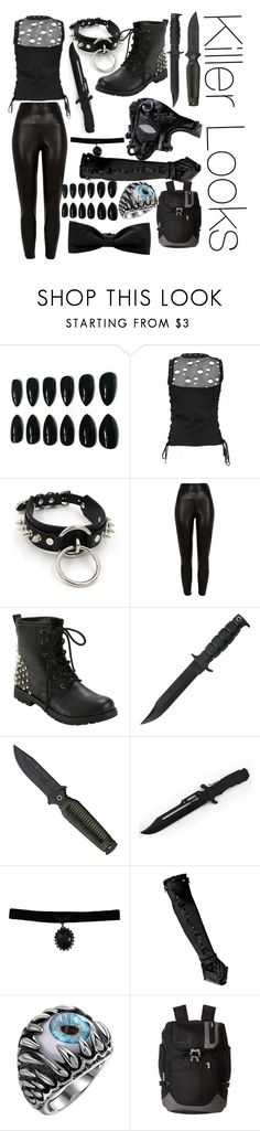 """Killer looks"" by imortalsnail ❤ liked on Polyvore featuring River Island, Briggs & Riley and Hermès"