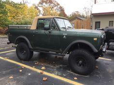 IH Scout Terra turbo diesel #vintage4x4