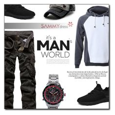 """""""Its Man world"""" by fashion-pol ❤ liked on Polyvore featuring Curren"""