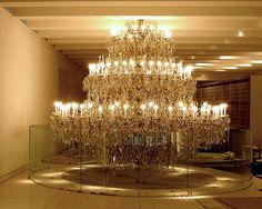 And you thought your chandelier was awesome. Chandelier of Insanity.