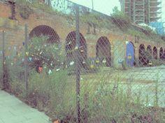 padlocks fence london
