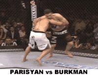 Karo Parisyan vs Josh Burkman (Harai Makikomi)