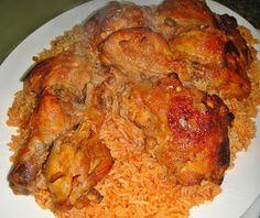Maryam's Culinary Wonders: 425. Iraqi Chicken with Red Rice