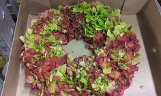 #Hortensia #Hydrangea #Wreath; Available at www.barendsen.nl