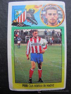 Cromo Pirri Atletico de Madrid colecciones este 93 94 futbol fichaje 17