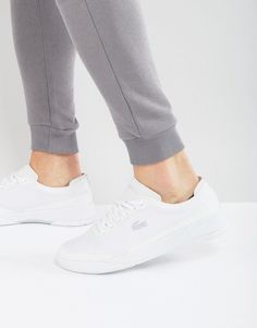 9c3587f0c3f85 Buy White Lacoste Sneakers for men at best price.