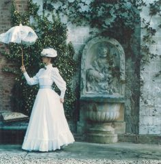 A vintage Laura Ashley photo shoot.