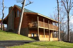 Autumn Ridge cabin rental in Pigeon Forge, TN. Autumn Ridge is a beautiful two-bed two-bath cabin that boasts a master suite accompanied by a spacious Jacuzzi tub. There is also a full-sized pool table and wireless internet to keep the kids in your family occupied while you relax in the hot tub. At the end of the day cuddle up around the fireplace and watch a movie or relax in the rocking chairs on the deck and gaze at the stars.