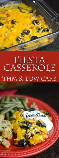 This Fiesta Casserole is super quick and easy and doesn't take any special ingredients! THM:S, low carb, gluten/egg/nut free