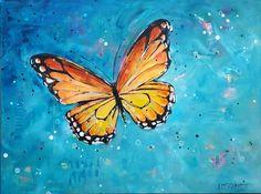 deep love for my favorite one: monarch butterfly by Lisa Marie Schmidt, Redhead Art Redhead Art, Artist Gallery, Lisa Marie, Monarch Butterfly, Schmidt, Butterflies, Vibrant, Deep, Journal