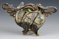 A Carol Long ceramic work.