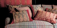 ETRO Checked and Stripe Textile Collection