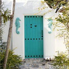 coastal front door color ideas ! | coastal decorating | pinterest