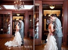 Loose Mansion | Kansas City Wedding | Allison Marie Photography