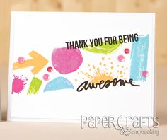 Teri Anderson - Paper Crafts & Scrapbooking Stamp It! Card Making Inspiration, Copics, Card Tags, Cool Cards, Greeting Cards Handmade, Scrapbook Cards, Card Templates, Cardmaking, Paper Crafts
