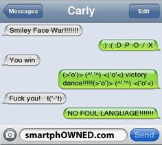 Smiley Face War