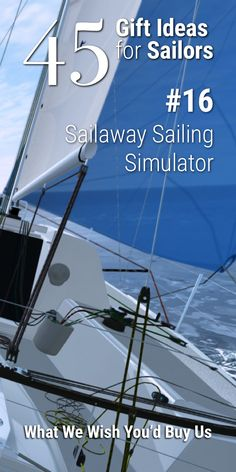 What to give to a sailor? Well, here are 45 (not-so-obvious) gift ideas for your next present! Read the article to get the entire list, with presents for him and for her. Sailing Gloves, Sailing Boots, Sailing Outfit, Liveaboard Sailboat, Gifts For Sailors, Presents For Him, Nautical, Deck