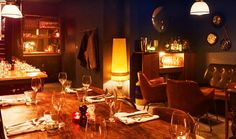 """The Disappearing Dining Club in London! An eclectic, exciting and secret pop-up restaurant that moves across the city! Enjoy amazing food, drinks and live music in reclaimed and unusual spaces, or discover their """"Back in 5 Minutes"""" dining concept - a secret dining room tucked away behind a designer clothes shop on Brick Lane!"""
