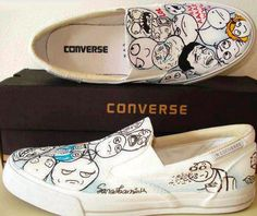 Rage comic meme Converse. Me gusta. i want these more than alot of things.