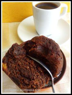 Persimmon Chocolate Muffins
