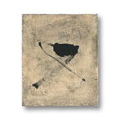 YAMANOBE, Hideaki Klangassoziationen Szene F-4/4 Acryl und Öl auf Textil Signiert: H. Yamanobe 1999 28,5 x 23,5 x 4,5 cm