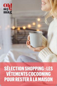 Envie de rester au chaud, sous un plaid ou au coin du feu ? Voici les plus belles pièces pour se mettre dans l'ambiance cocooning à la maison, du pull, en passant par le pijama, le plaid ou encore les chaussons.
