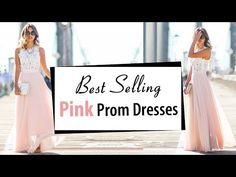 (68) Beautiful Pink Prom Dresses 2018, Latest Formal Party Dress, Best Selling Fashion Evening Gowns - YouTube