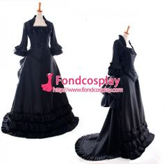 Fond Cosplay : Medieval Gown - O Dress Gothic Clothing School Uniforms Lolita Clothing Medieval Gown Venice Carnival Movie Costumes Cosplay Wig Cosplay Shoes Anime Costumes Game Costumes Other Costumes Cosplay Accessories Sissy Maid Uniform New Arrival Medieval Gown, Rococo, Costume Accessories, Cosplay Costumes, Custom Made, Trail, Gothic, Victorian, Punk
