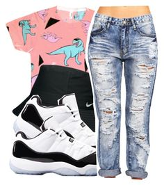 """""""*"""" by princess-kia54321 ❤ liked on Polyvore featuring Nike Golf"""