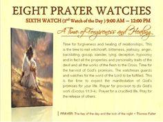 6th Watch from 9AM - 12NN