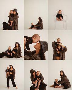 Studio Family Portraits, Family Portrait Poses, Family Picture Poses, Family Posing, Newborn Baby Photography, Children Photography, Family Photography, Cute Family, Baby Family