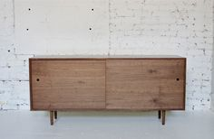 "64 Mid Century Modern Inspired Hand Crafted by departmentChicago -  L 64"" x D 18"" x H 29"""