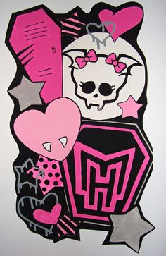 Monster High Light Switch Plate Cover girls child by ComicRecycled ...