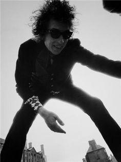 Bob Dylan, Liverpool, England, 1966.