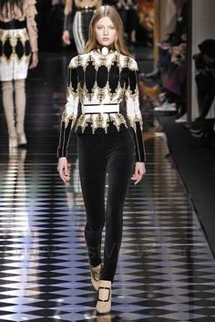 Balmain, Fall 2016, Paris, firstVIEW.com