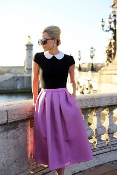 Ladylike fashion trend for fall - http://fabyoubliss.com/2014/07/24/13-wearable-fashion-trends-for-fall-2014