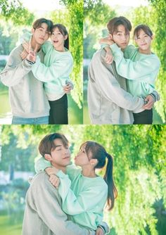 Nam Joo Hyuk and Kyung Soo Jin cuddle up in more stills from 'Weightlifting Fairy Kim Bok Joo' | allkpop