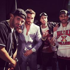 Drake, Scott disick, tyga, big Sean