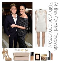 """At the Capitol Records 75th year anniversary"" by thetrendpear-eleanor ❤ liked on Polyvore featuring Burberry, Charlotte Tilbury, Allurez, Chanel, Forzieri and Jimmy Choo"