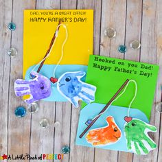 Add some adorable handprint fish to this homemade card template and Dad will be o-fish-ally happy this coming Father's Day! Children can make this craft on their own or with a little help from Mom or Grandma. Don't forget Grandpa likes fishing too and will certainly want a card from his favorite grandchildren. Suggested Books: …